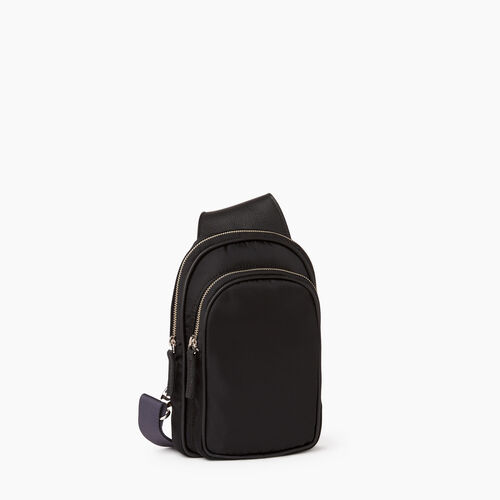 Roots-Leather  Handcrafted By Us Our Favourite New Arrivals-Trinity Sling Nylon-Black-A