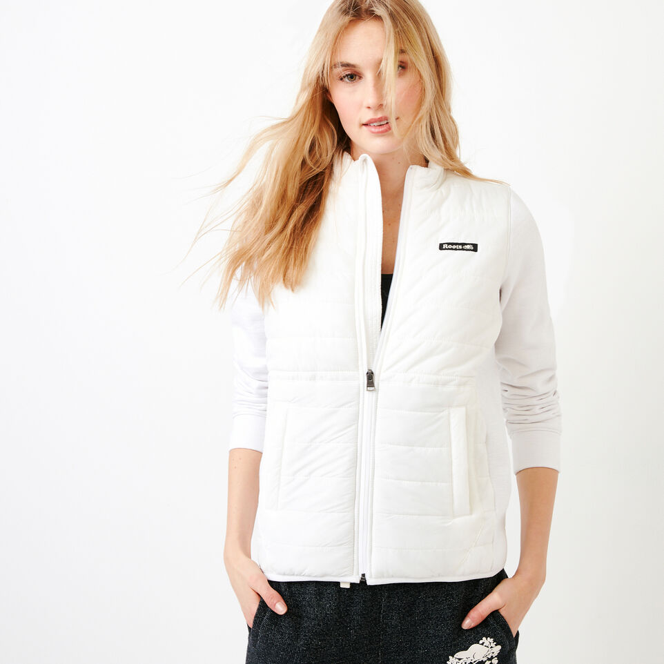 Roots-New For July Daily Offer-Roots Hybrid Jacket-White-A