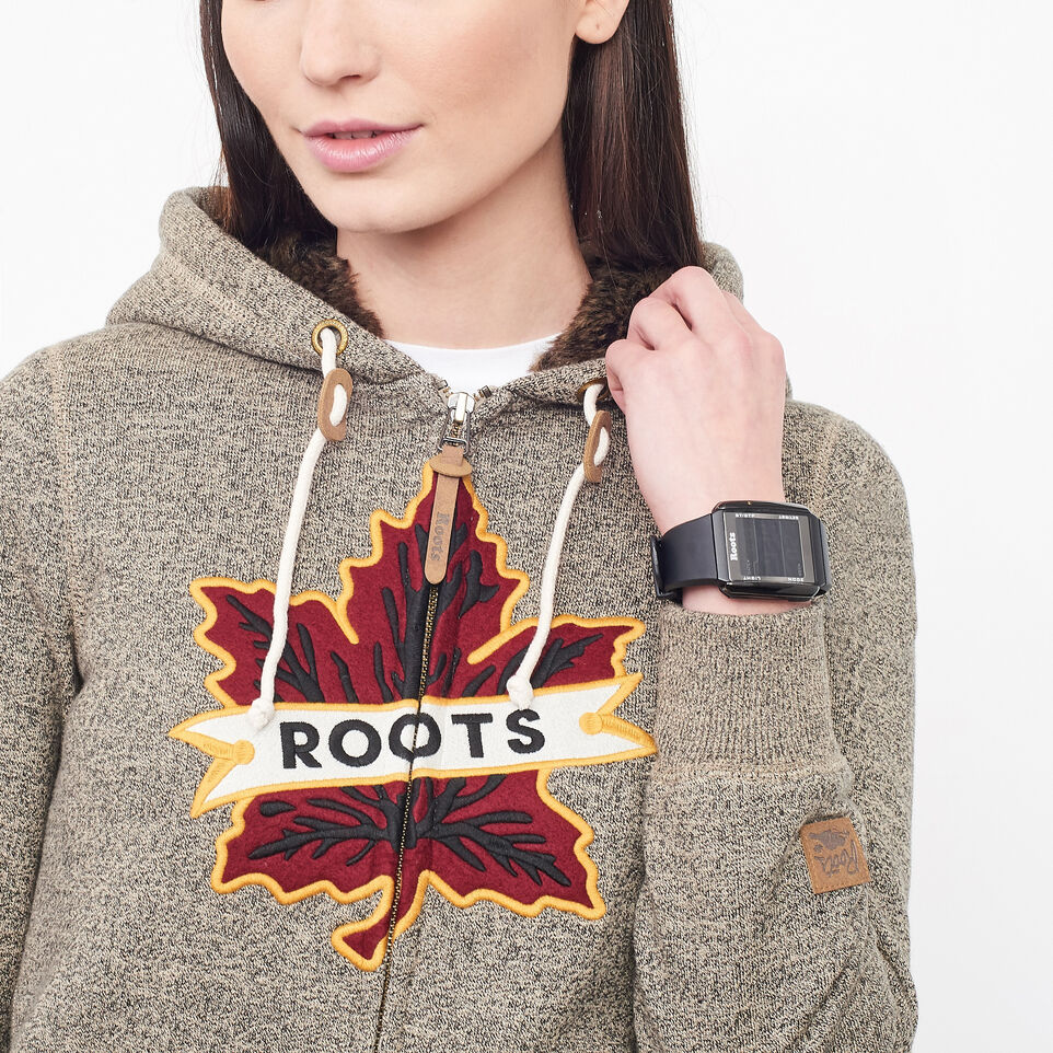 Roots-undefined-Heritage Fur Leaf Hoody-undefined-B