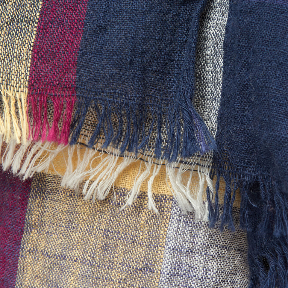 Roots-undefined-Womens Madras Scarf-undefined-D