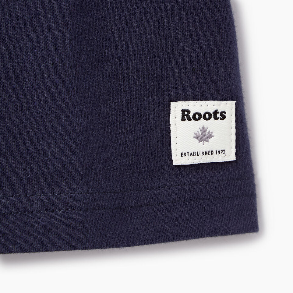 Roots-Kids Our Favourite New Arrivals-Toddler Roots Patches T-shirt-Navy Blazer-C