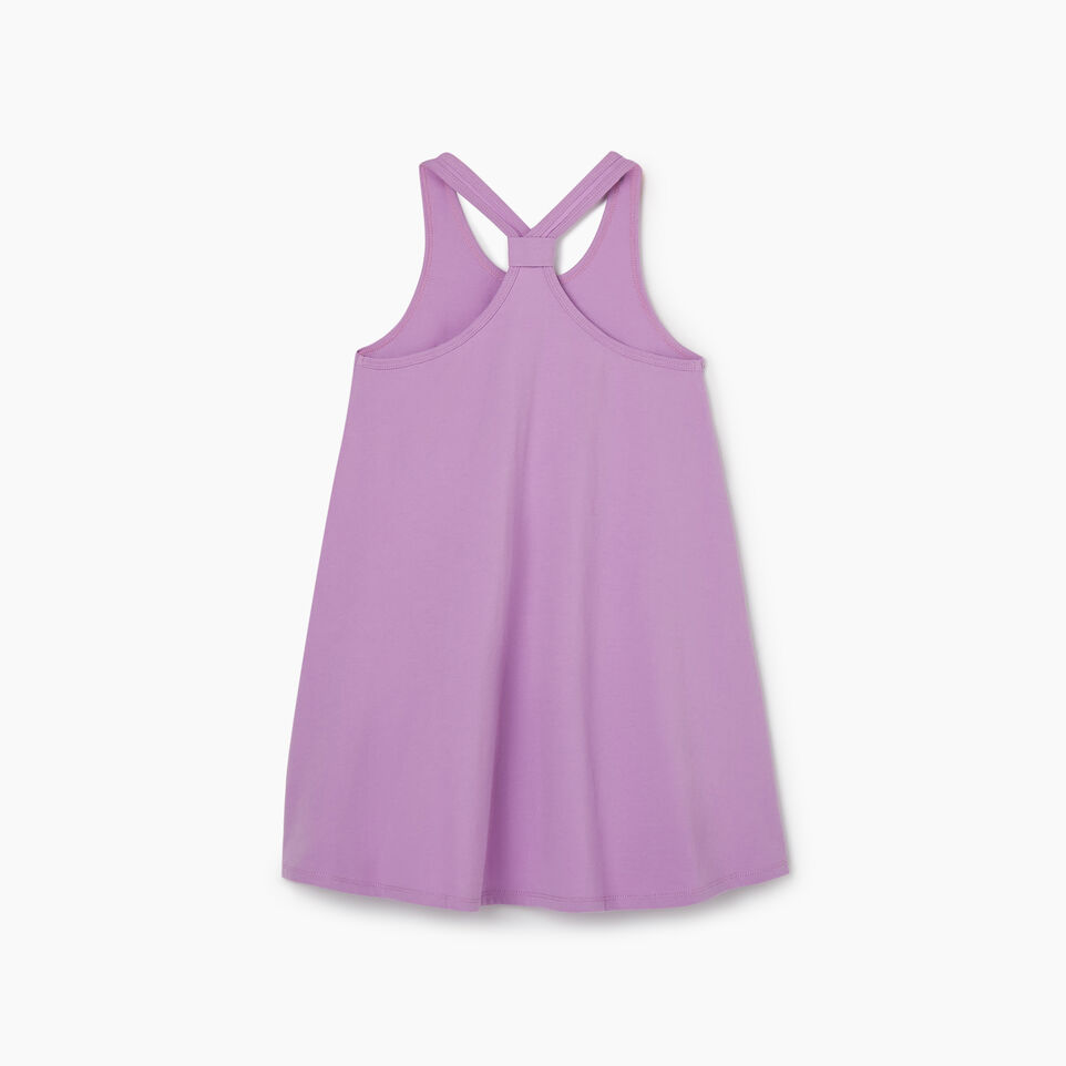 Roots-Kids New Arrivals-Girls Knot Swing Dress-African Violet-B