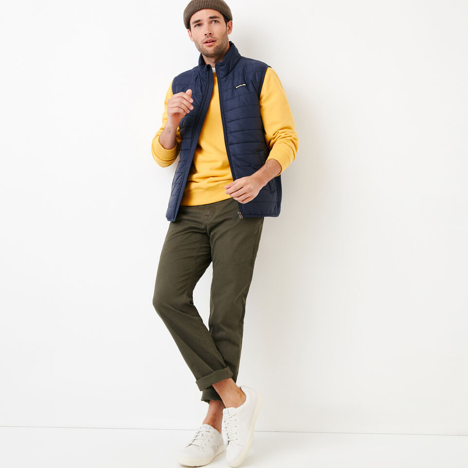 Roots-Men Categories-Roots Hybrid Vest-Navy Blazer-B