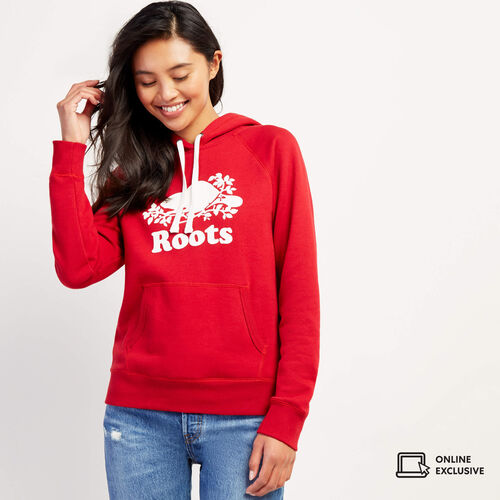 Roots-New For November Online Exclusives-Original Kanga Hoody-Cabin Red-A