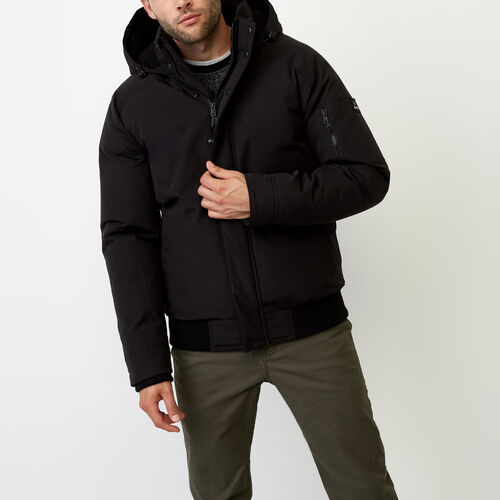 Roots-Men Outerwear-Tobermory Jacket-Black-A