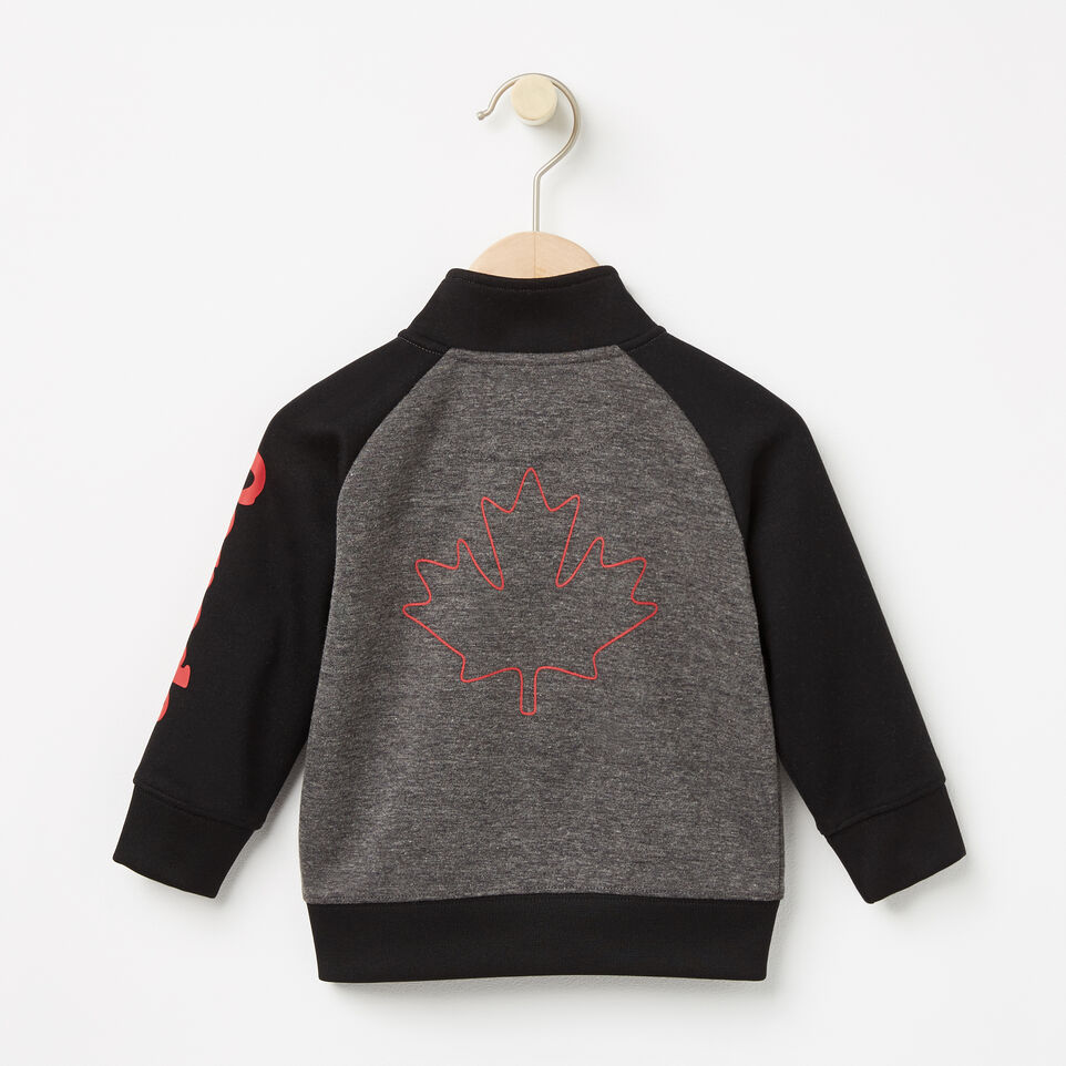 Roots-undefined-Baby Slater Mock Full Zip Sweatshirt-undefined-B