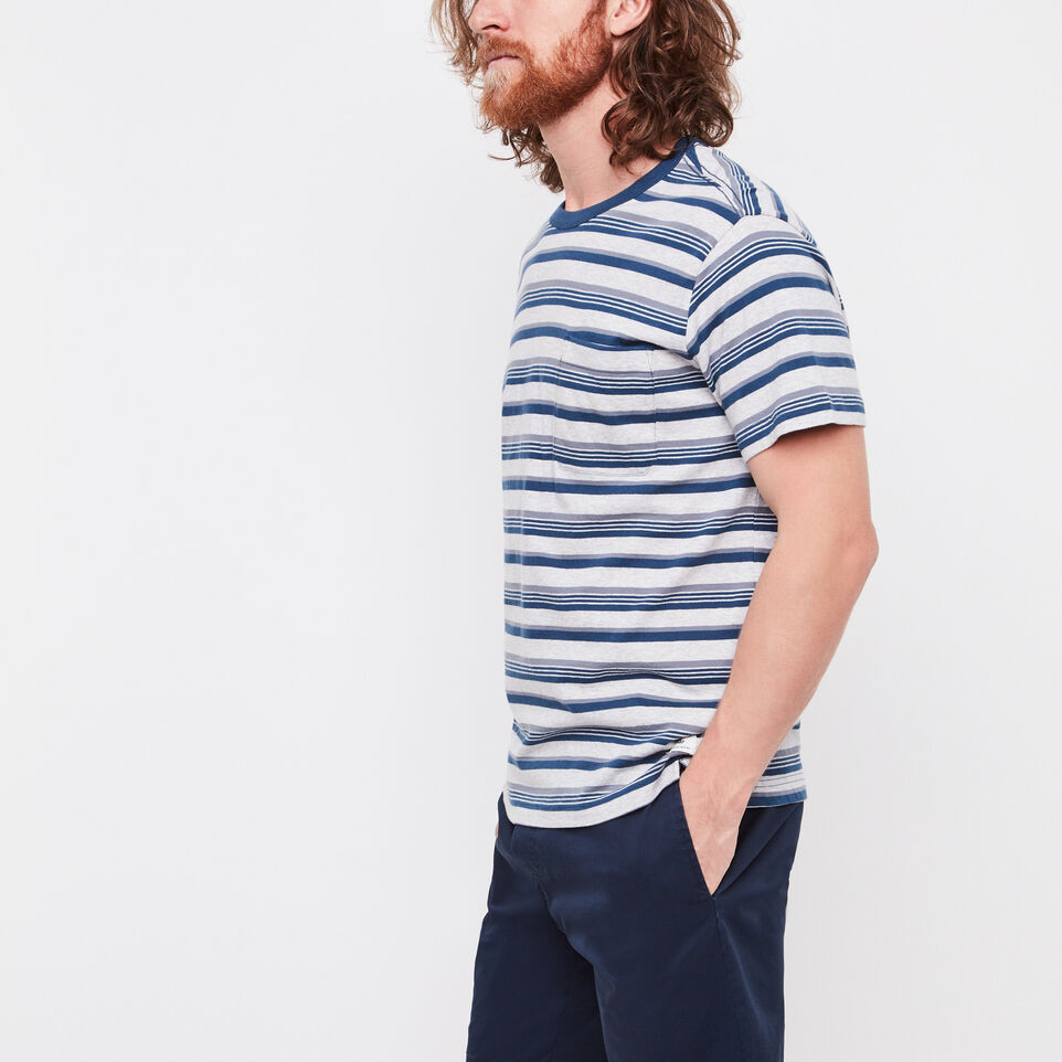 Roots-undefined-Caspian Striped Pocket T-shirt-undefined-B