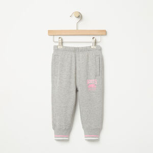 Roots-Kids Baby Girl-Baby RBC Slim Sweatpant-Grey Mix-A