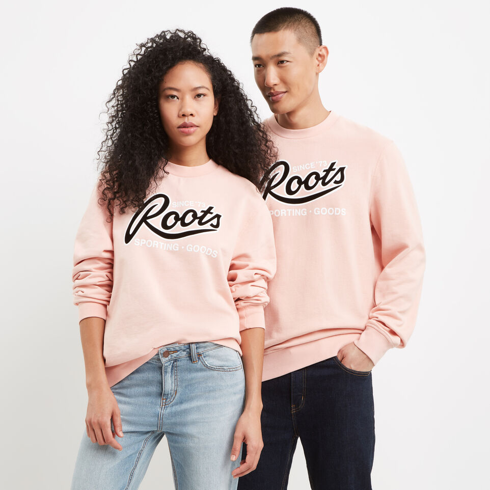 Roots-undefined-Roots Sporting Goods Crew Sweatshirt-undefined-A