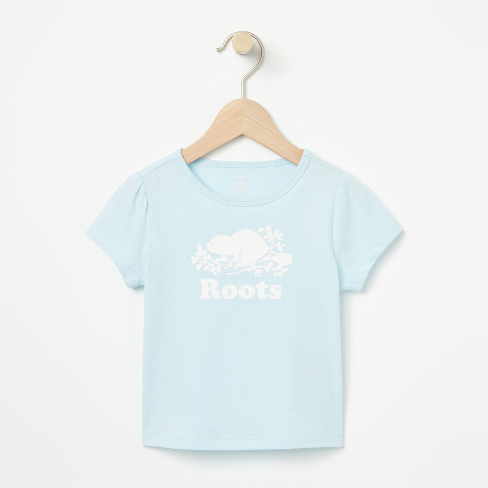 Roots-Baby Cooper Beaver Puff T-shirt
