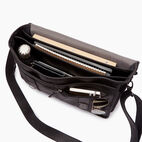 Roots-Leather  Handcrafted By Us Collections-Grad School-Jet Black-D
