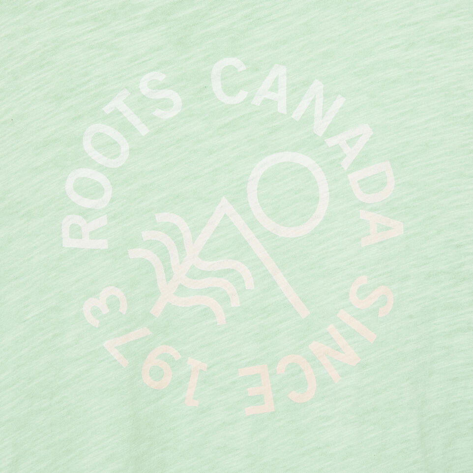 Roots-undefined-Womens Coastal Waves T-shirt-undefined-D