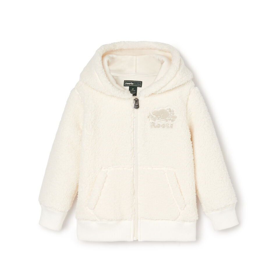 Roots-undefined-Toddler Sherpa Fleece Full Zip Hoody-undefined-A