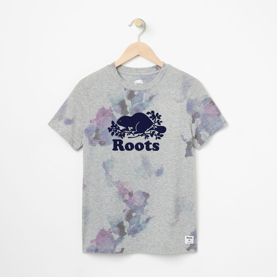 Roots-undefined-Womens Water Colour Cooper T-shirt-undefined-A
