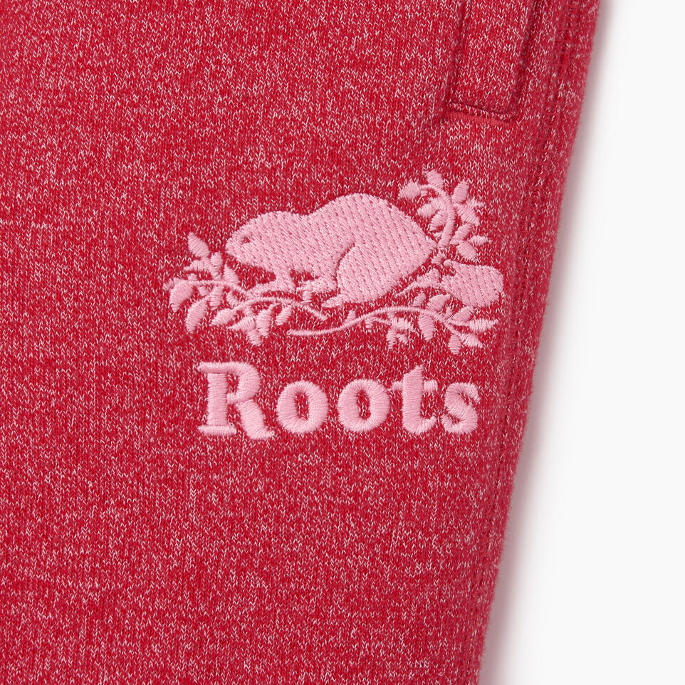 Roots-Kids Toddler Girls-Toddler Roots Cabin Cozy Sweatpant-Cabin Red Pepper-C