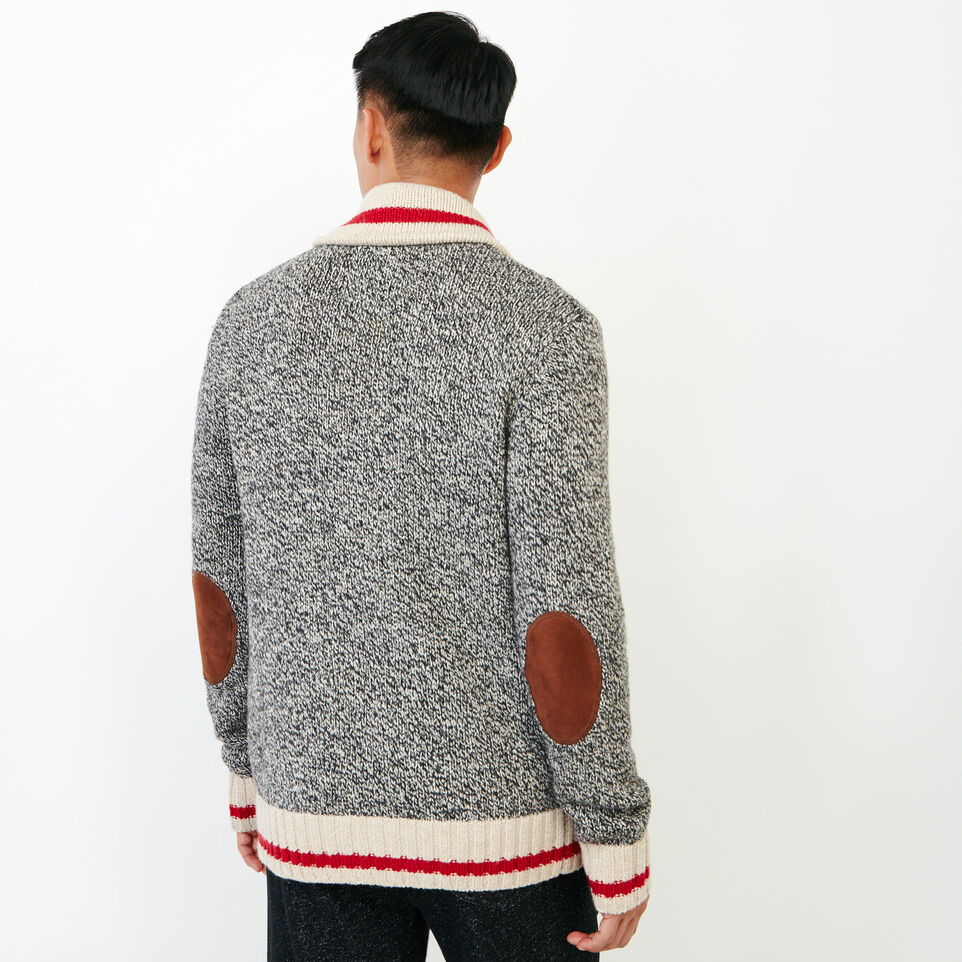 Roots-Men Our Favourite New Arrivals-Roots Cabin Shawl Cardigan-Grey Oat Mix-D