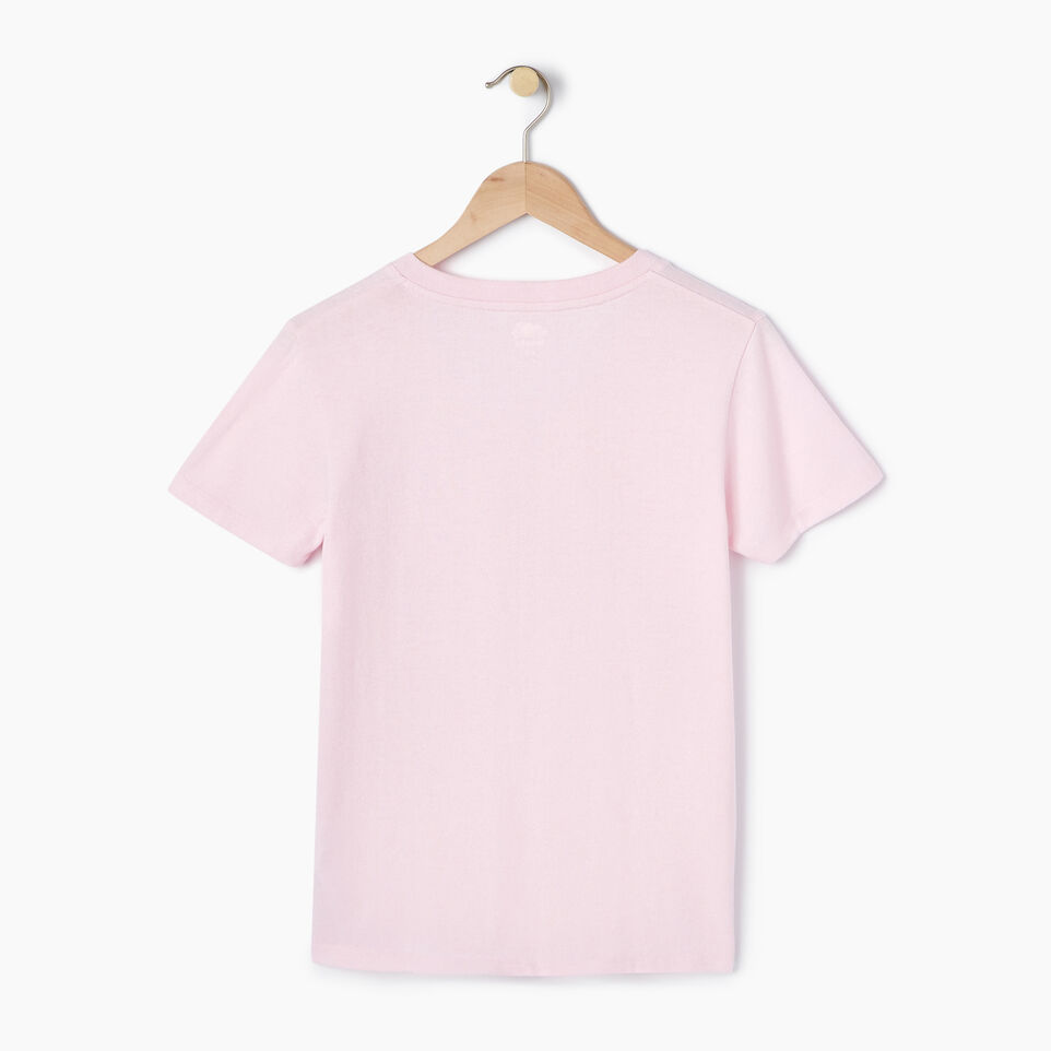 Roots-New For July Daily Offer-Womens Nanaimo V-neck T-shirt-Pink Mist Pepper-B