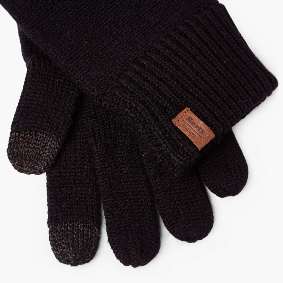 Roots-undefined-Wool Texting Glove-undefined-B