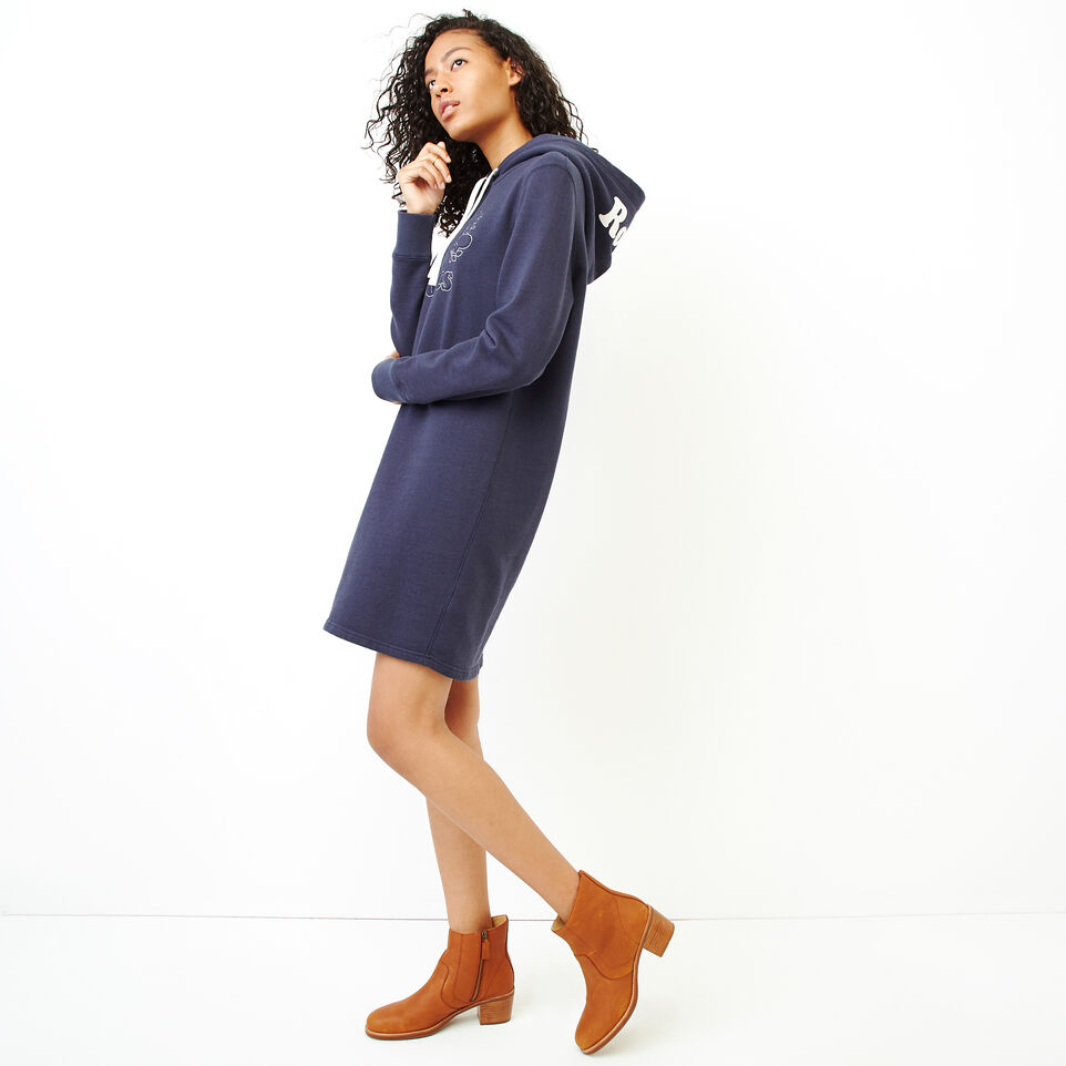 Roots-Women Our Favourite New Arrivals-Red Deer Dress-Graphite Mix-C