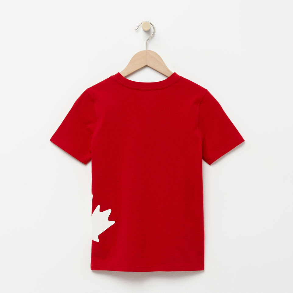 Roots-undefined-Boys Diagonal Roots T-shirt-undefined-B