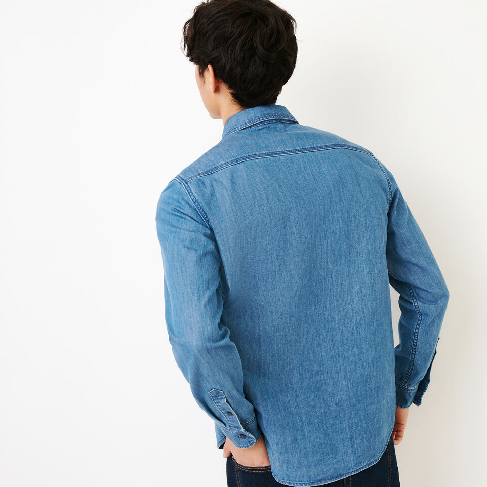 Roots-undefined-Heatley Denim Shirt-undefined-D