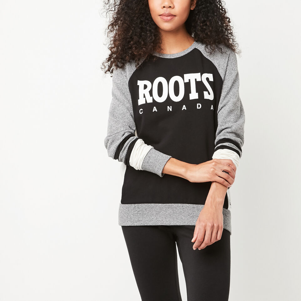 Roots-undefined-Retro Roots Cozy Fleece Crew-undefined-B