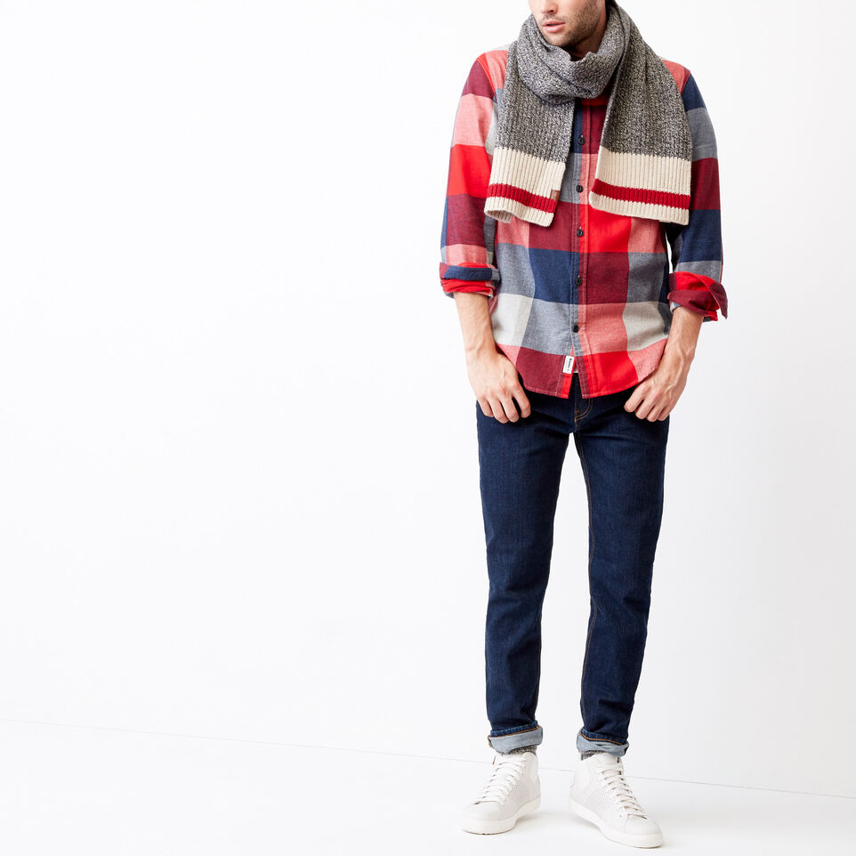 Roots-undefined-Redrock Flannel Shirt-undefined-B