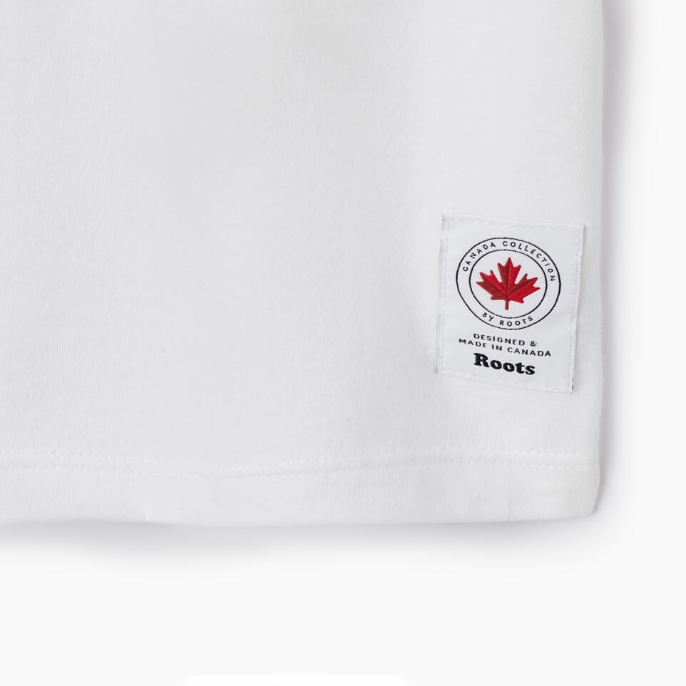 Roots-New For July Women-Womens Cooper Canada T-shirt-Crisp White-D