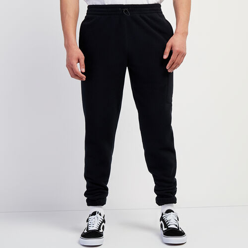 Roots-Men New Arrivals-Polartec® x Roots Journey Pant-Black-A