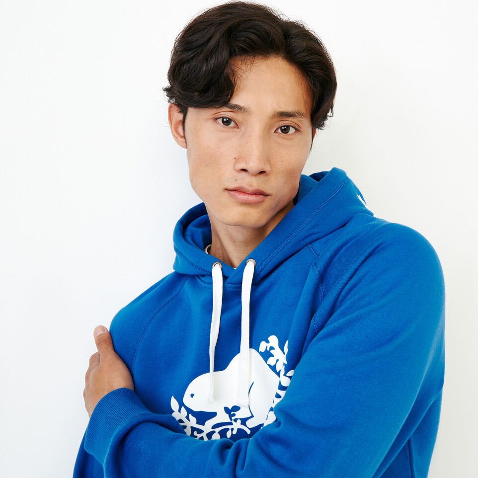 Roots-Men Our Favourite New Arrivals-Original Kanga Hoody-Olympus Blue-E