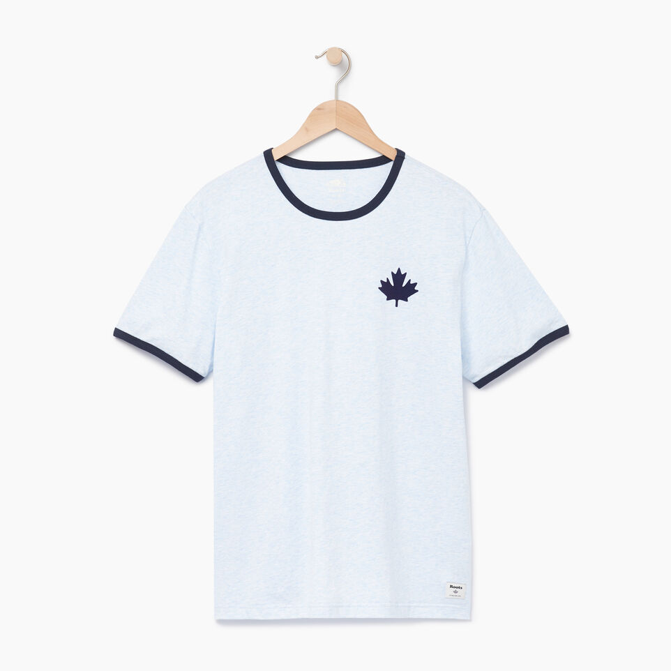 Roots-Men Our Favourite New Arrivals-Mens Canada Cabin Ringer T-shirt-Baby Blue Mix-A