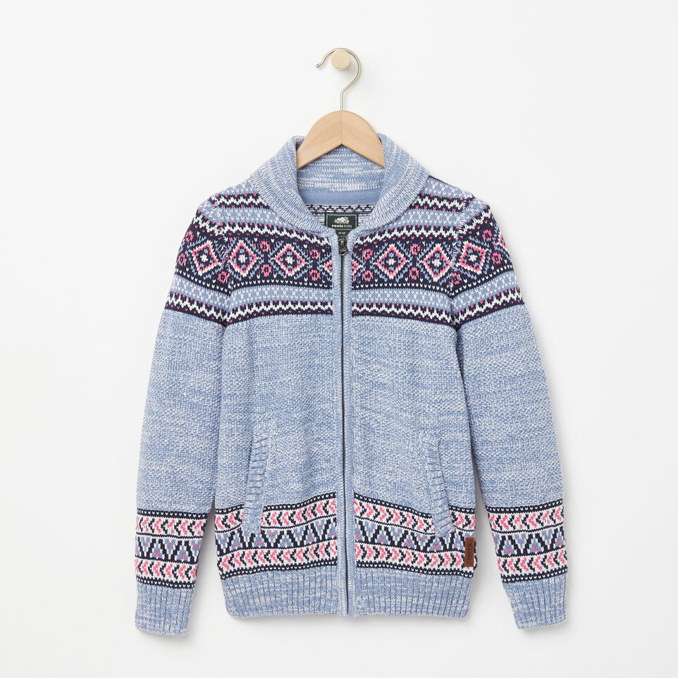 Roots-Girls Fair Isle Holiday Sweater