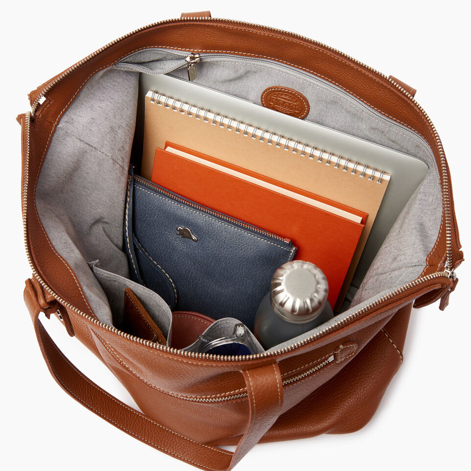 Roots-Leather Our Favourite New Arrivals-Go To Bag-Caramel-D
