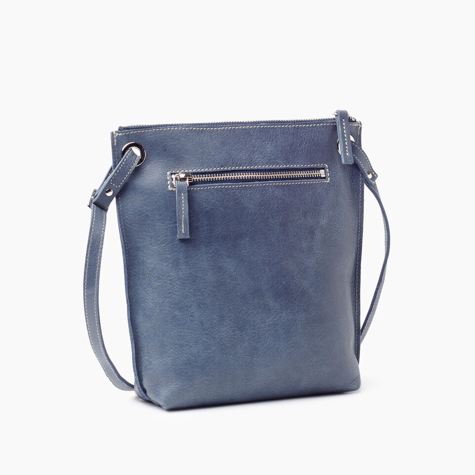 Roots-Leather New Arrivals-Festival Bag-Navy-C