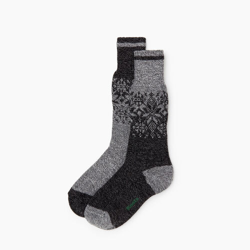Roots-Women Socks-Roots Elsa Cabin Sock 2 Pack-Black Mix-A
