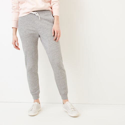 Roots-Women Sweatpants-50s Sweatpant-Grey Pepper Mix-A