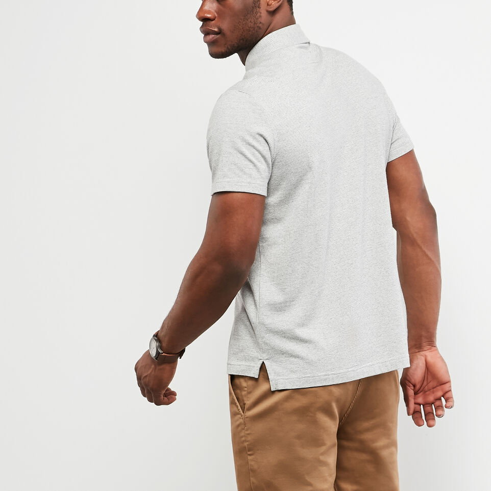 Roots-undefined-Polo En Jersey Cèdre Rayé-undefined-D