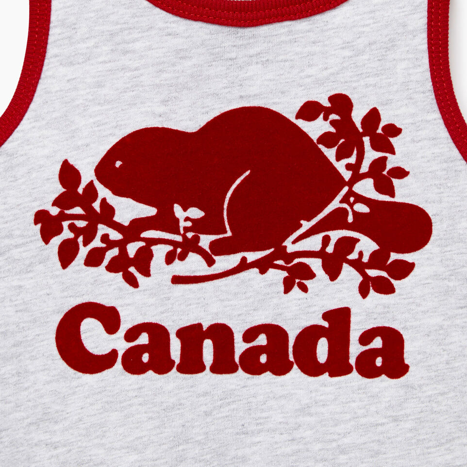 Roots-Kids New Arrivals-Baby Canada Tank Dress-Snowy Ice Mix-C