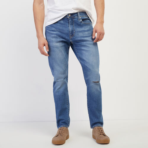 Roots-Men Bottoms-Levi's 512 Jean 34-Light Denim-A