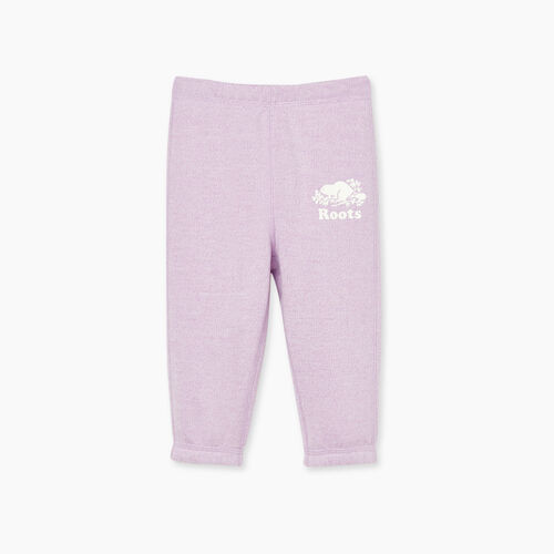 Roots-Kids Baby Girl-Baby Original Roots Sweatpant-Lupine Pepper-A