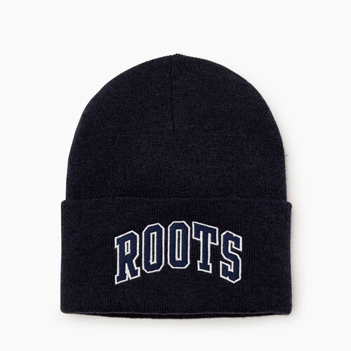 Roots-Men Our Favourite New Arrivals-Nova Scotia Toque-Navy Blazer Pepper-A