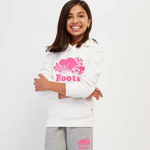 Roots-Gifts Gifts For Kids-Girls Original Kanga Hoody-Ivory-A