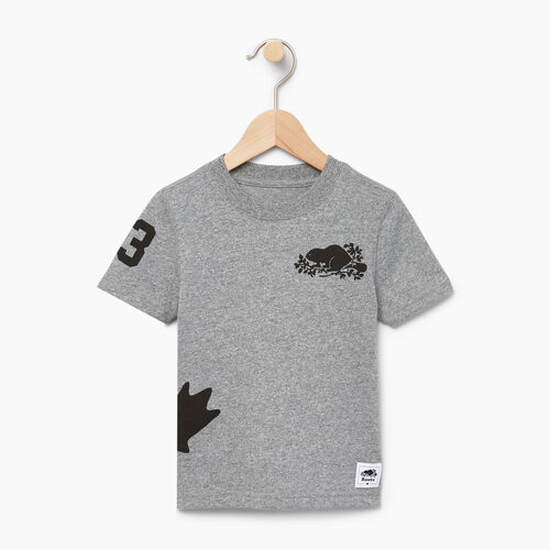 Roots-Kids Canada Collection-Toddler Bedford T-shirt-Salt & Pepper-A