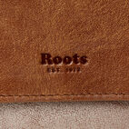 Roots-Women Clothing-Medium Tab Wallet-Champagne/ Natural-C