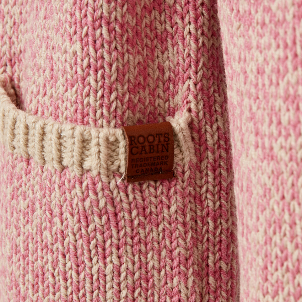Roots-Kids Toddler Girls-Toddler Roots Cabin Cardigan-Cashmere Rose-C