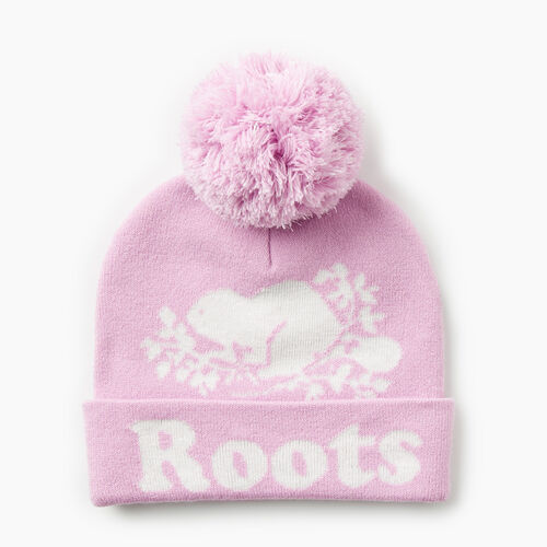 Roots-Gifts Gifts For Kids-Kids Cooper Glow Toque-Orchid-A