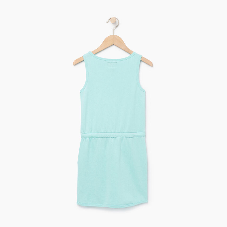 Roots-Kids Our Favourite New Arrivals-Girls Cooper Beaver Tank Dress-Aruba Blue-B