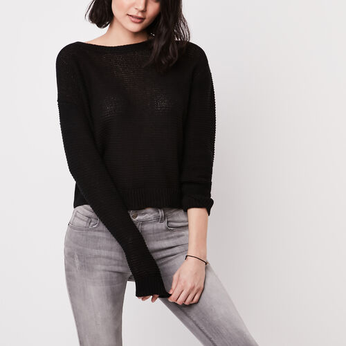 Roots-Sale Jackets & Sweaters-Cascade Pullover Sweater-Black-A