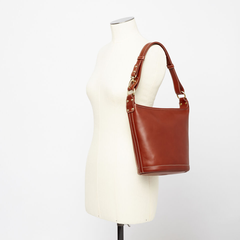 Roots-Winter Sale Leather-Feed Bag Heritage-Oak-B