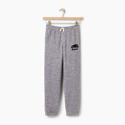 Roots-Kids Bottoms-Boys Original Sweatpant-Salt & Pepper-A